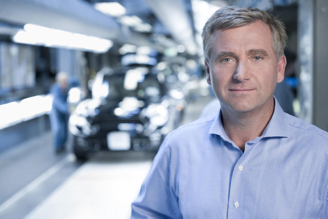 Magna Europe-CEO Günther Apfalter